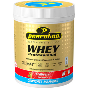 Peeroton Whey Professional Protein Shake Tub 350g, Strawberry